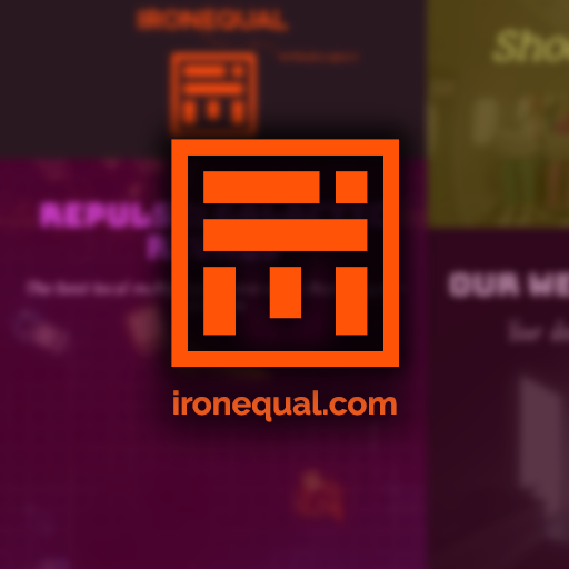 2016 // IronEqual's official website
