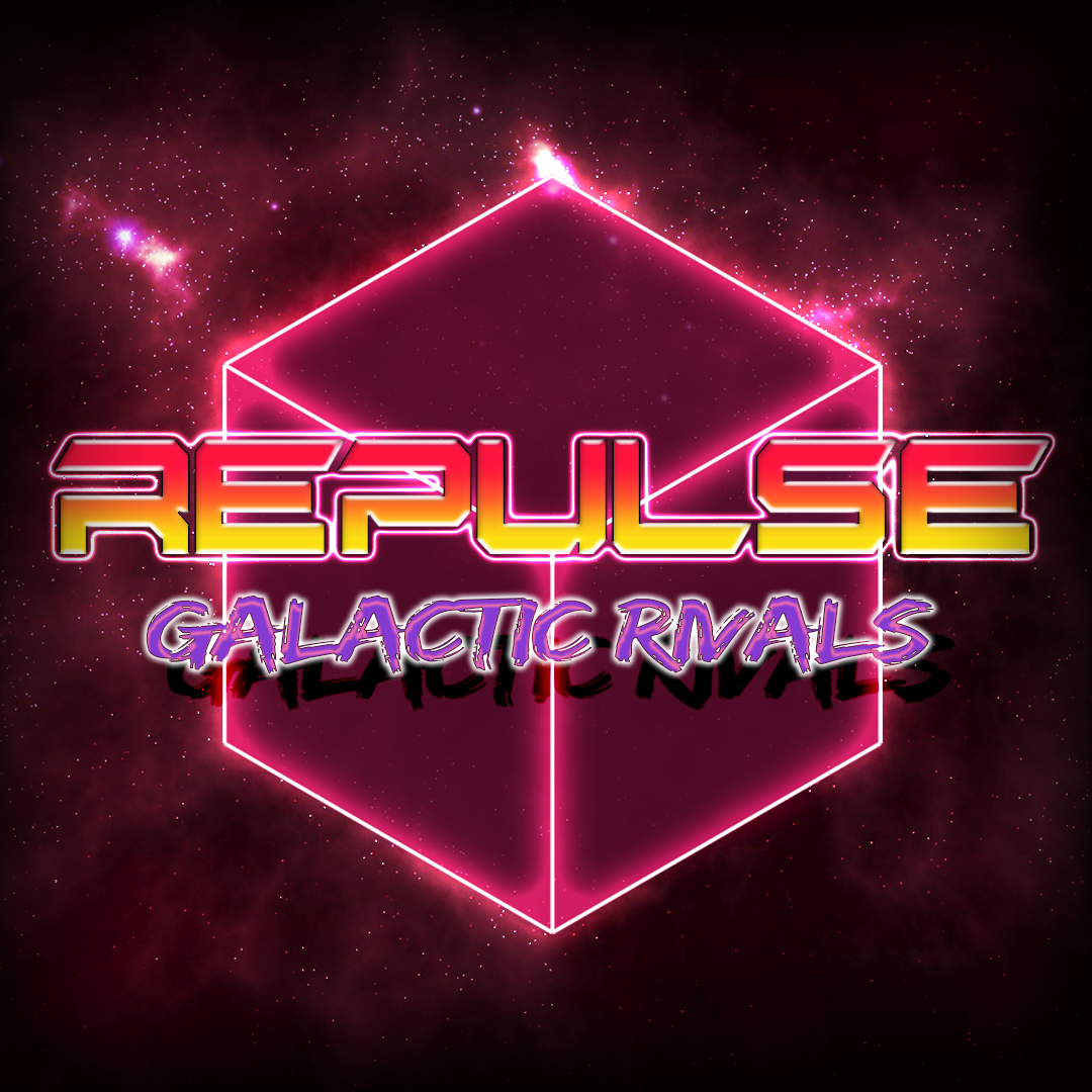 2016 // REPULSE: Galactic Rivals is a 2 to 4 local players competitive couchgame set in a retrofuturistic universe. Players have the ability to attract and repulse cubes spread around the arena at high speed. A dozen of game modes revolve around this repulsion mechanic, while being powered by an addictive and punchy synthwave soundtrack.